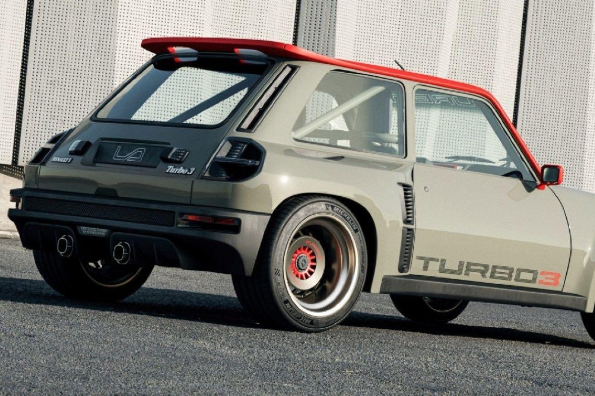 Conheça o Renault 5 Turbo 3, um clássico modernizado