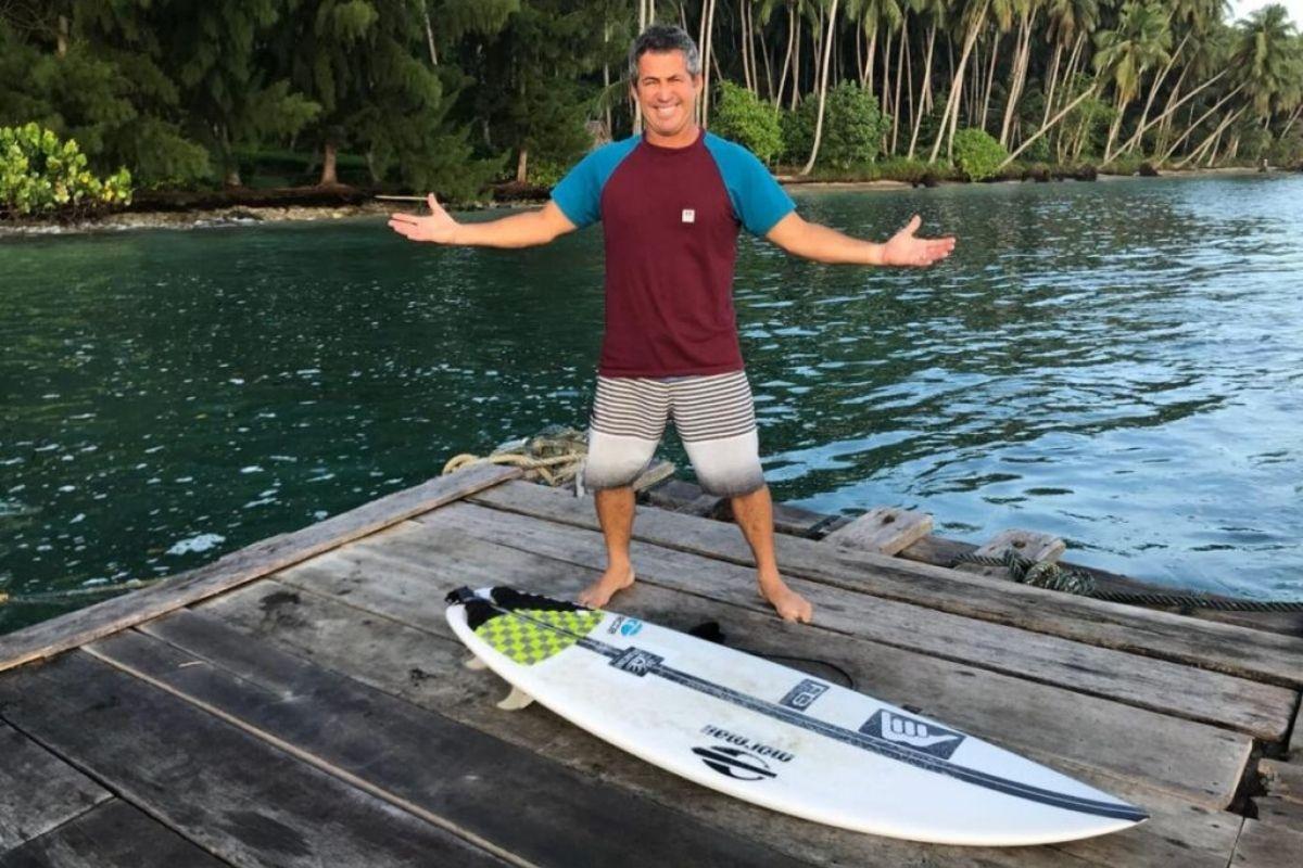 Fabio Gouveia fala do sucesso do surfe brasileiro em Tóquio