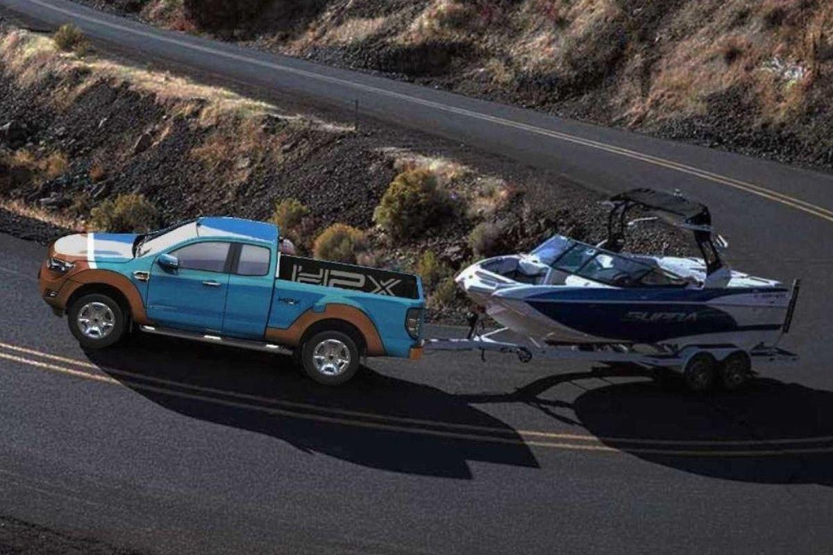 H2X Warrego, um captador de hidrogênio baseado no Ford Ranger