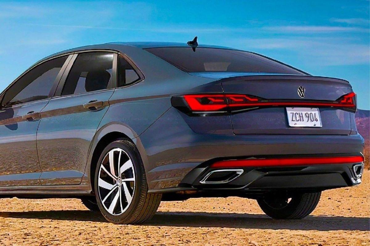 Imagens do novo Volkswagen Vento vazaram