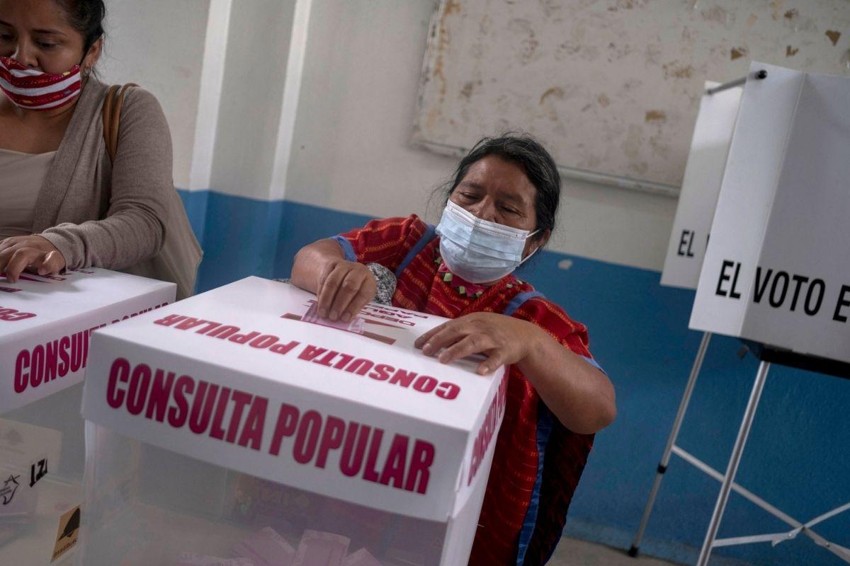México uma votação sem sucesso