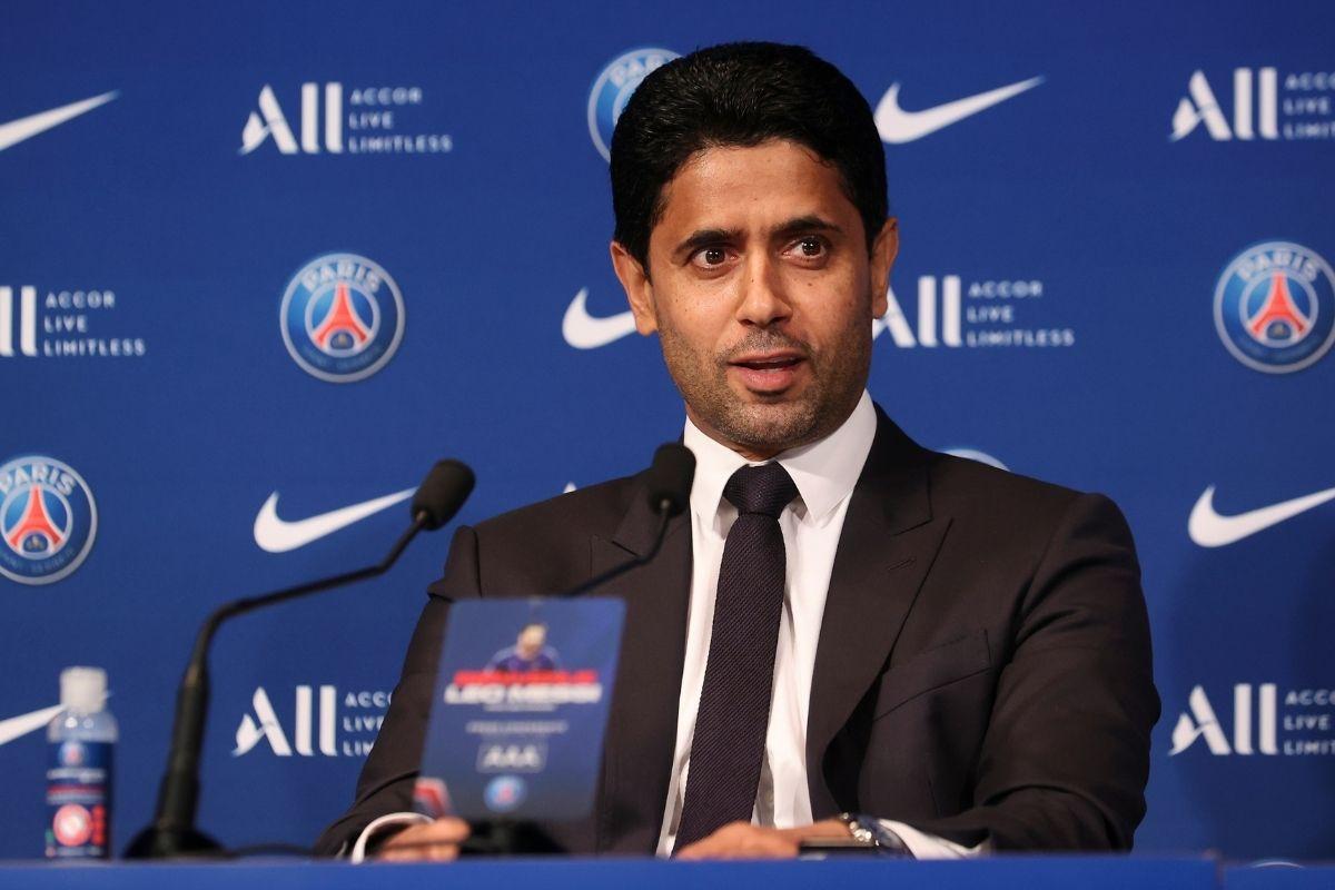 Nasser Al-Khelaïfi deixou contente o emir do Qatar graças a Messi