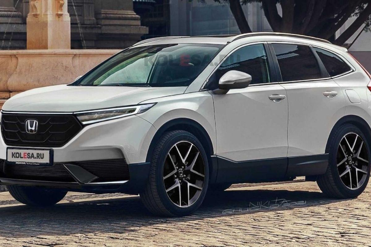 O design da nova geração do Honda CR-V