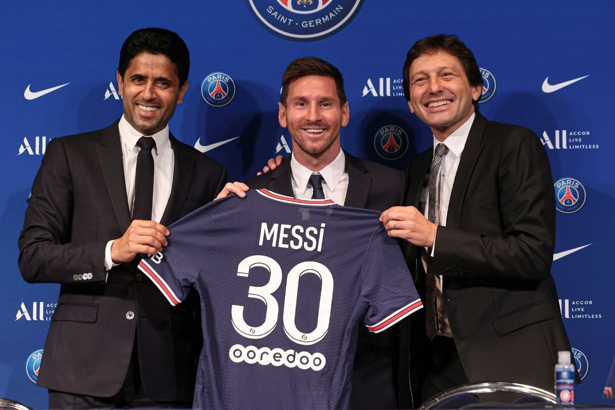 O lucro resultado da marca Messi