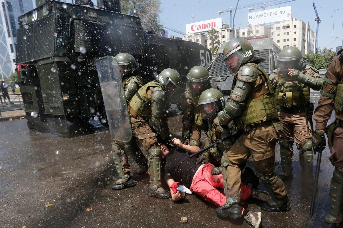 Uma rejeição taxativa da violência no Chile