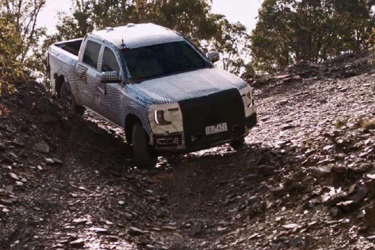 Ford apresentou o primeiro vídeo da nova geração de Ranger