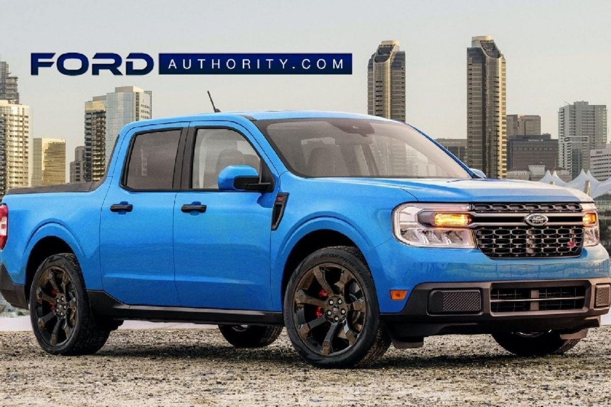 Ford Maverick ST versão esportiva para nova picape