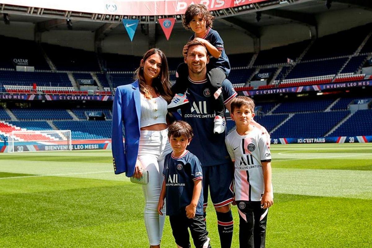 Messi e Antonela em busca da casa dos seus sonhos
