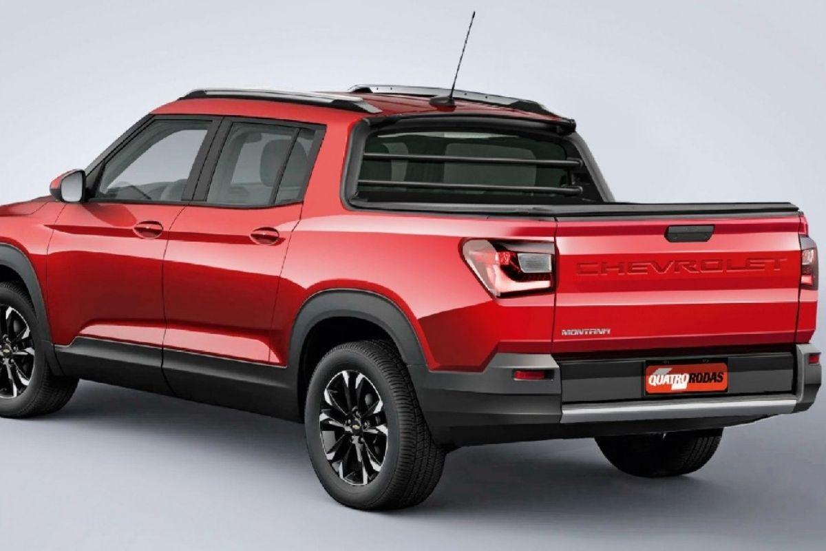 New Montana, picape irmã do Chevrolet Tracker