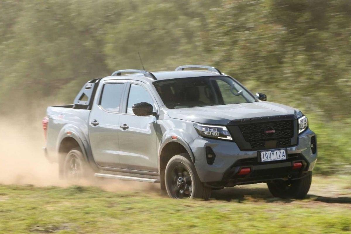 Nissan testa nova Frontier na América do Sul