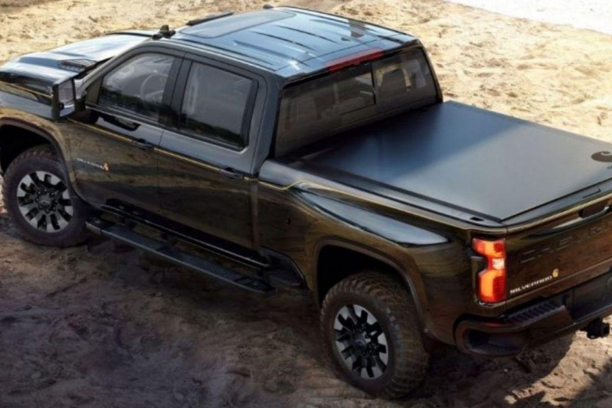 Novo Chevrolet Silverado HD com motor V8 de 505 cv
