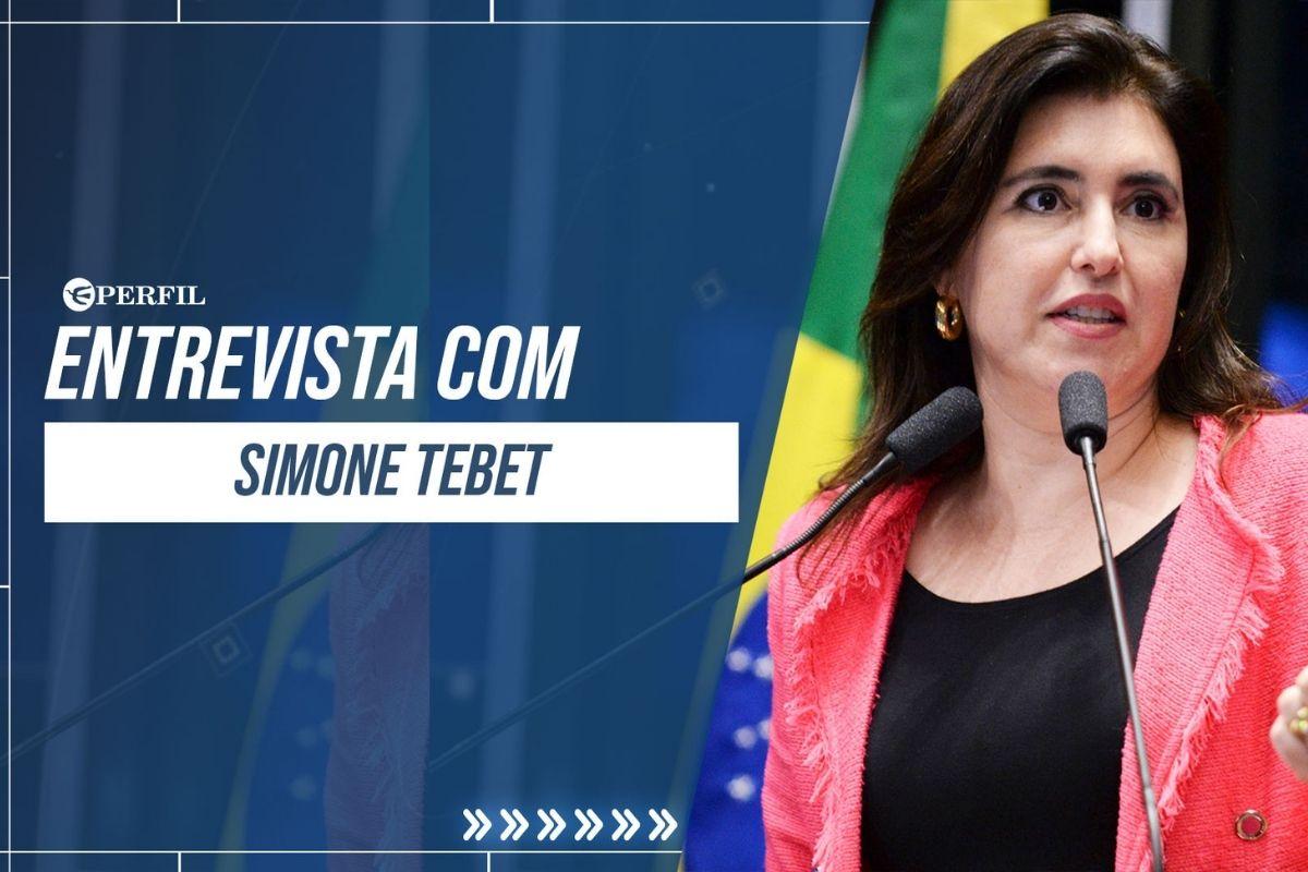 Senadora Simone Tebet fala sobre CPI da Covid
